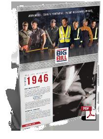 2014 Big Bill Workwear Catalogue