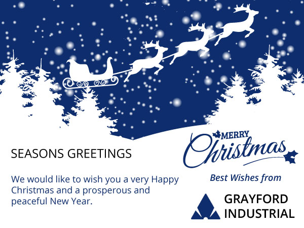 December 2015 - Season's Greetings From Grayford Industrial