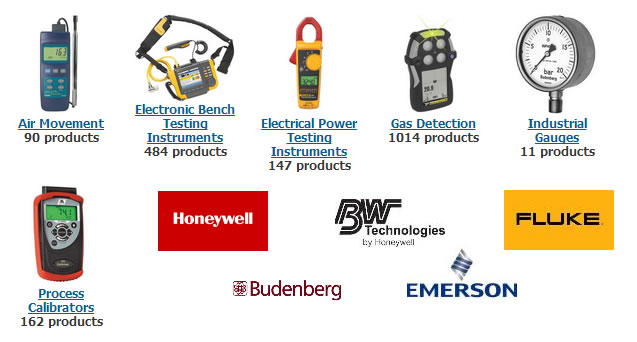 Complete Instrumentation Product lines Now Available Online