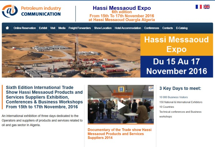Grayford To Be At The Hassi Messaoud Expo Algeria 15th To 17th November 2016