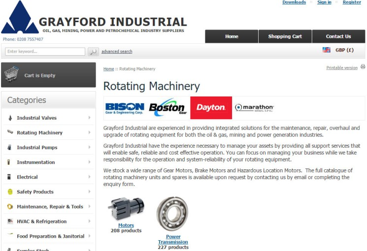 Rotating Machinery Equipment Range Expanded
