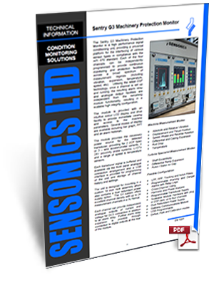 Sensonics Sentry G3 Machinery Protection Monitor